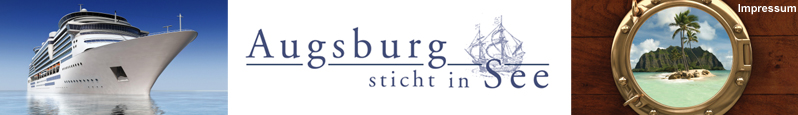 Augsburg sticht in See